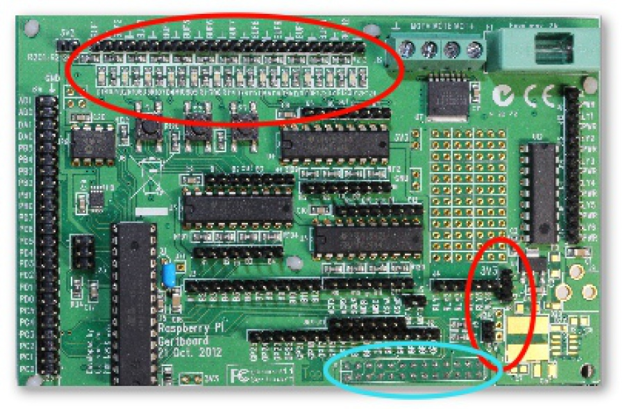 Raspberry Infrarot Entfernungsmesser : Raspberry pi gpio gertboard unterricht lernmaterial mint